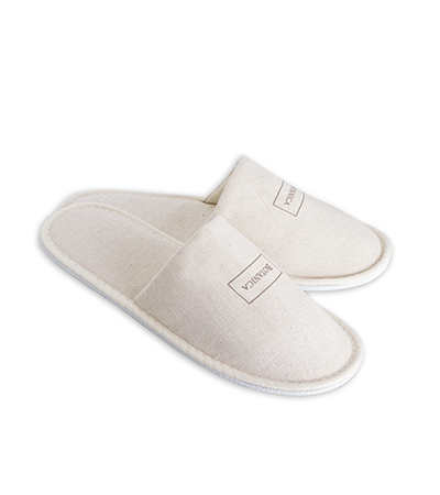 Slippers - Leinen Slipper